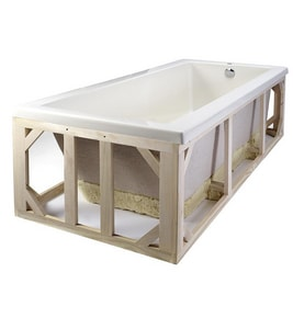 MTI Whirlpools® Hardwood and Foam Pre-Leveled Frame and Foam Base MTIPLF