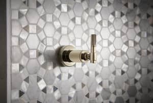 Brizo Litze™ Tub and Shower Volume Control Valve Trim with Single Industrial Lever Handle in Polished Nickel DT66634PN