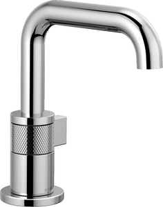 Brizo Litze™ Single Handle Monoblock Bathroom Sink Faucet in Polished Chrome D65035LFECO