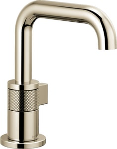 Brizo Litze™ Single Handle Monoblock Bathroom Sink Faucet in Polished Nickel D65035LFPNECO