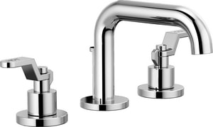Brizo Litze™ Two Handle Widespread Bathroom Sink Faucet in Polished Chrome Handles Sold Separately D65337LFLHPECO