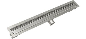 Infinity Drain 60 in. Drain in Stainless Steel IFTMN2560SS