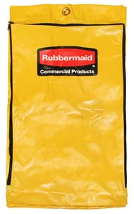 Rubbermaid 24 gal Vinyl Replacement Bag with Zipper R1966719
