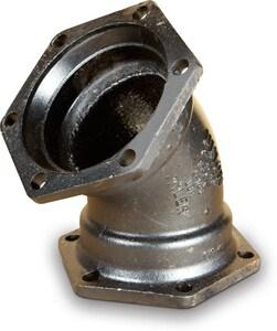 24 in. Mechanical Joint Epoxy C153 45 Degree Bend DMJEL4LA24