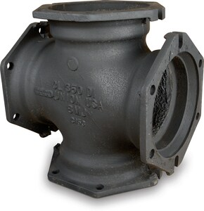 16 x 16 x 12 x 12 in. Mechanical Joint Ductile Iron C153 Short Body Cross (Less Accessories) MJCRLA1612