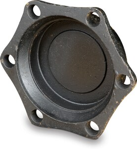 Tyler Union 3 in. Mechanical Joint Ductile Iron C153 Short Body Solid Cap (Less Accessories) MJELSCLA