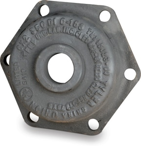 Tyler Union 3 x 2 in. Mechanical Joint IPT Ductile Iron C153 Short Body Tapped Cap DMJELTCLAMK