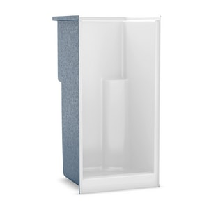 Aker Plastics 36 x 36 x 73-1/2 in. Alcove Shower Unit in White A141022000002