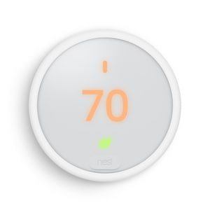 Google Nest Programmable Wi-fi Enabled Thermostat in White NT4001ES