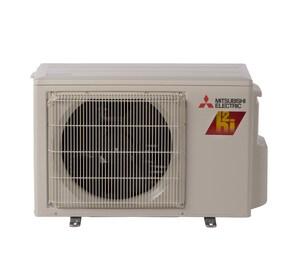 Mitsubishi Electronics USA M-Series 33.1 SEER 0.5 Ton Single-Stage R-410A Heat Pump Condenser MMUZFHNA