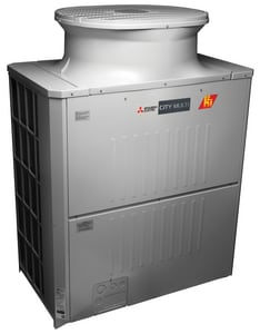 Mitsubishi Electronics USA City Multi® 8 Ton Multi-Position R-410A VRF Heat Pump with Heat Recovery System MPURYHP96YKMUAH