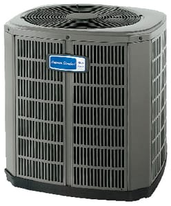 American Standard HVAC 4A7A4 Silver 14 2.5 Ton 14 SEER 1/8 hp Single-Stage R-410A Split-System Air Conditioner A4A7A4031L1000A