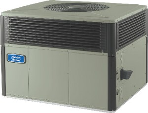 American Standard HVAC 4YCX3 Series 13 SEER R-410A Single-Stage Spine Fin Convertible Commercial Propane or Natural Gas Packaged Gas/Electric Unit A4YCX3A3096B