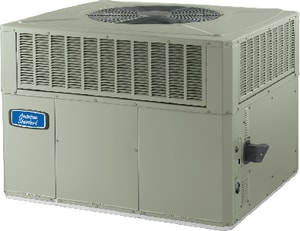 American Standard HVAC 4YCC3 XB13c 3 Tons 13 SEER R-410A Single-Stage Spine Fin Convertible Commercial Propane or Natural Gas Packaged Gas/Electric Unit A4YCC3036A3096B