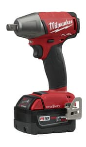Milwaukee® M18 Fuel™ 6-1/2 in. 18V Compact Impact Wrench with Pin Detent Kit M275922 at Pollardwater