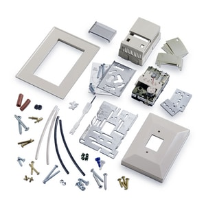 Siemens Building Technologies Retroline® 140F Direct Acting Retrostat Kit for TH 192 and TH 194 Room Thermostats S192850
