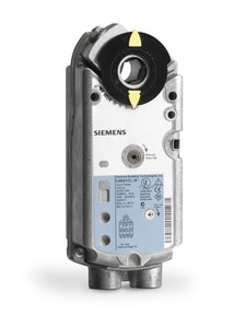 Siemens Building Technologies OpenAir™ GMA Series 2-67/100 in. 24V 62 lb-in. Die-Cast Aluminum Spring Return Electronic Damper Actuator for GMA Damper Actuator Series SGMA1311P