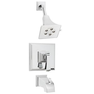 Speakman Rainier™ Pressure Balancing Trim Tub and Shower Spout with Valve in Polished Chrome SSM8030P