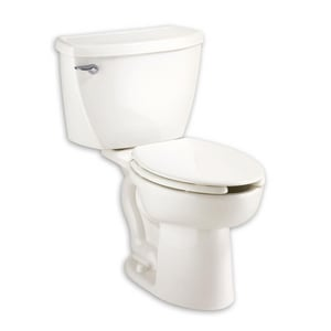 American Standard Cadet® 1.1 gpf Elongated Two Piece Toilet in White A2467100020