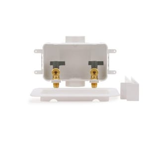 Oatey Centro II 10-3/10 in x 6-19/50 in x 3-3/100 in Washing Machine F1960 PEX Supply Box O38106