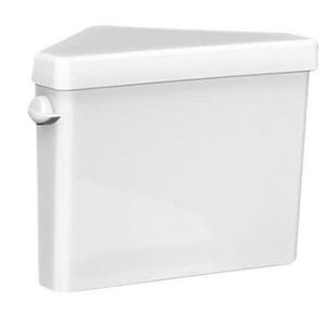 American Standard Triangle Cadet® Pro™ 1.28 gpf Toilet Tank in White A4189D104