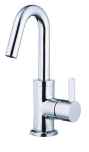 Gerber Plumbing Amalfi™ Single Handle Monoblock Bathroom Sink Faucet in Polished Chrome GD222530