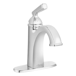 American Standard Edgemere® Single Handle Monoblock Bathroom Sink Faucet in Polished Chrome A7018101002