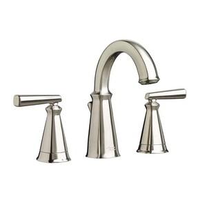 American Standard Edgemere® Two Handle Widespread Bathroom Sink Faucet in Brushed Nickel A7018801295