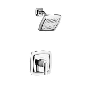 American Standard Townsend® 1.75 gpm Bath and Shower Trim Kit with Single Lever Handle and Water Saving Showerhead in Polished Chrome AT353507