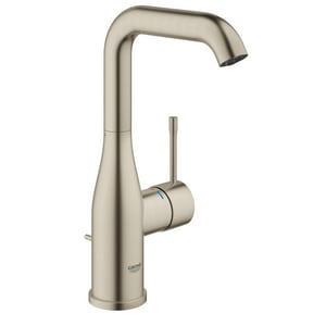 Grohe Essence New Single Handle Bathroom Sink Faucet in StarLight Brushed Nickel G23486ENA