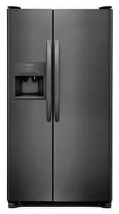 Frigidaire 22.1 cf Side-by-Side Refrigerator in Black Stainless FFFSS2315TD