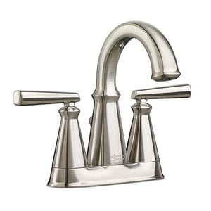 American Standard Edgemere® Two Handle Centerset Bathroom Sink Faucet in Brushed Nickel A7018201295