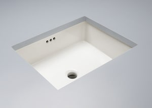 Signature Hardware Destin Undermount Bathroom Sink in White MIRU1713