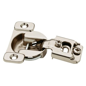 Liberty Hardware Overlay Hinge in Nickel Plated 10 Pack L850304