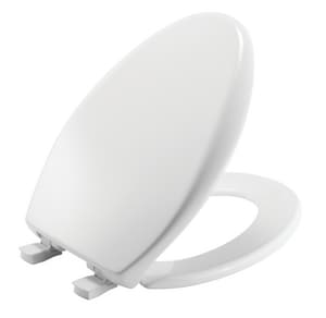 Bemis Affinity™ Elongated Closed Front Toilet Seat With Cover in White B1200E3