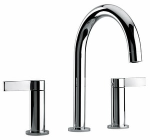 Fortis Brera Two Handle Widespread Bathroom Sink Faucet in Polished Chrome F922140CPC