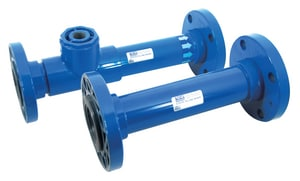 Koflo Corporation 3 in. Flanged PVC Static Mixer with Injector K380439I