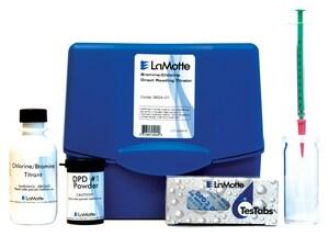 Lamotte 1 lb. 10 PPM Chlorine or Bromine Test Kit L362401 at Pollardwater
