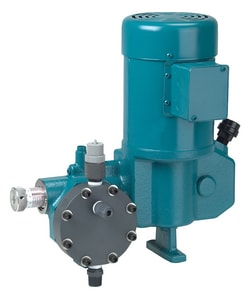 Neptune Chemical Pump Company 500E Series 1/2 in. 18 gph 1/3 hp 115V 150 psi NPT 316 Stainless Steel, PVC and Sodium Hypochlorite Centrifugal Pump N535EN5 at Pollardwater