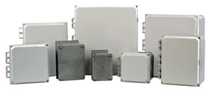 Conery Manufacturing 14 x 12 x 6 in. Aluminum, Polycarbonate and Stainless Steel Enclosure CPC141206HOLF at Pollardwater