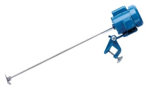 Neptune Chemical Pump Company B Series 1/2 hp 115/230V 1750 RPM 316 Stainless Steel Clamp Mount Direct Drive Mixer NB30 at Pollardwater