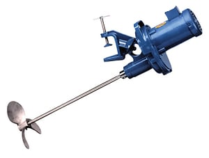 Neptune Chemical Pump Company JG Series 1-1/2 hp 230/460V 350 RPM 316 Stainless Steel Clamp Mount Mixer NJG61 at Pollardwater