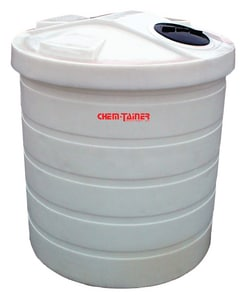 Chem-Tainer Industries 5000 gal HDLPE Double Wall/Dual Containment Storage Tank CTC5000DC at Pollardwater