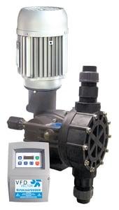 Pulsafeeder Blackline 1416 gpd 90 psi PVDF and PTFE VFD Centrifugal Pump PMD2FKTPN2CXXX at Pollardwater