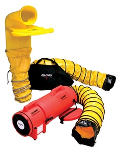Allegro Industries Com-Pax-Ial 8 in. AC Plastic Blower System A952033M at Pollardwater