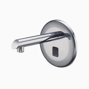Sloan Valve Optima® 0.5 gpm 1-Hole Wall Mount Electronic Sensor Faucet in Polished Chrome S3365726