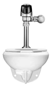 Sloan Valve Efficiency Series 1.28 gpf Elongated Wall Mount Toilet in White S20501401