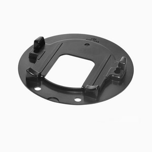 Sloan Valve G2 Optima Plus® Cover Rest Plate in Black S0325171