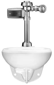Sloan Valve Optima Plus® 1.28 gpf Elongated Wall Mount Toilet in White S20501403