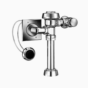 Sloan Valve Royal® 1.28 gpf Flushometer in Polished Chrome S3910850